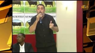 Edwin Daniel Zenny (Edo) cried injustice from the CEP