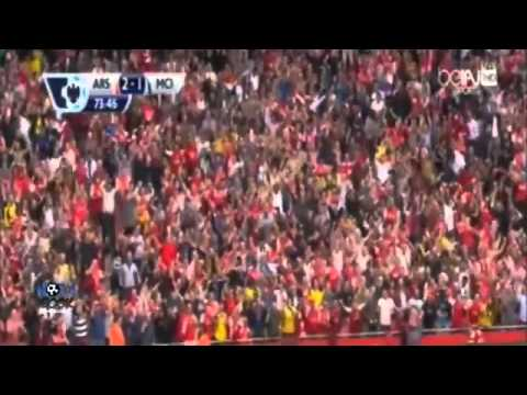 Arsenal vs Manchester City 2-2 All Goals and Highlights 13/9/2014 HD