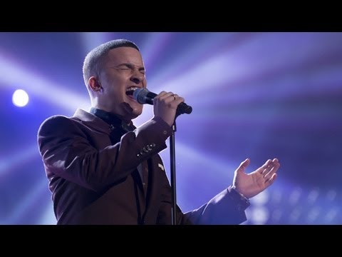 Jahmene Douglas sings Beyonce's Listen - Live Week 5 - The X Factor UK 2012