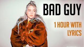 Download Bad Guy Billie Eilish 1 Hora  1 Hour Loop With lyrics MP3