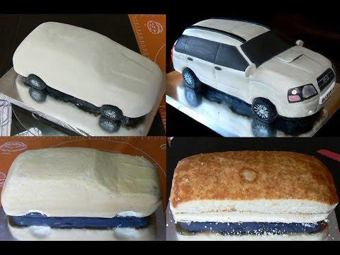 Как самой приготовить торт из мастики
