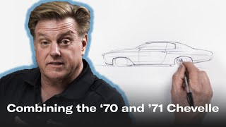 New-look Chevelle combines best elements of '70 and '71 | Chip Foose Draws a Car - Ep.7