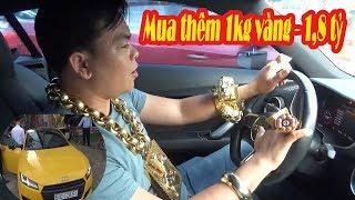Phúc XO lái siêu xe đi mua thêm vàng Đội tuyển Việt Nam sẽ vô địch