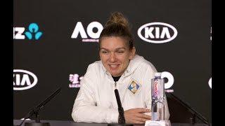 Simona Halep Press Conference | 2019 Australian Open First Round