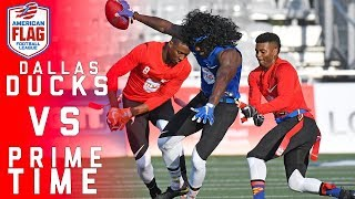 Flag Football Highlights Quarterfinals Game 1: Winners get closer to play Pros for $1 Million | NFL