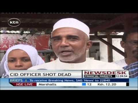 Mombasa CID Boss murdered in unclear circumstances