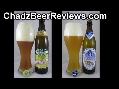 Hofbräu München Hefe Weizen & Ayinger Ur-Weisse | Chad'z Beer Reviews #679