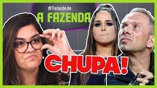 "🔥""Chupa!"" PERLLA SAI ""ESCORRAÇADA"" e NADJA FESTEJA   Comentando ""A FAZENDA 10""   Prog de 18/10/2018"