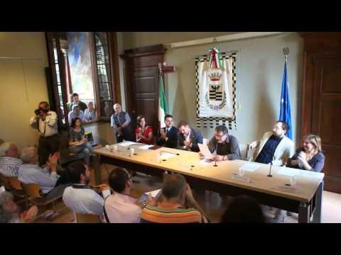 Il Sindaco Marco Invernizzi presenta la nuova Giunta Comunale