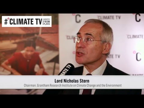 Lord Nicholas Stern, chair of the Grantham Research Institute on Climate Change and the Environment