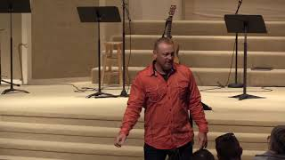"""God's House - Darrin Begley - August 26, 2018 - """"The Song Of Moses"""""""