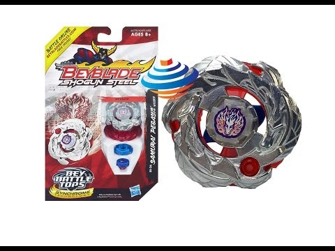 (CLOSED)Beyblade Shogun Steel Samurai Pegasus Unboxing Review Giveaway Exp March 23rd 2014