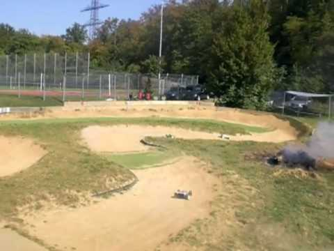 RC-Car Truggy Buggy D8T Losi RC8 ST-1 RC-Germania-Brötzingen 2009