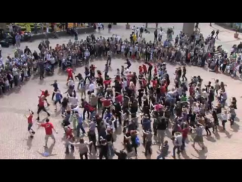 Birmingham Flash Mob: Thriller in the City 16th April 2011