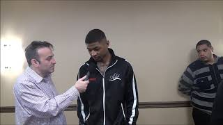 Marquis Taylor talks about his fight with Kermit Cintron