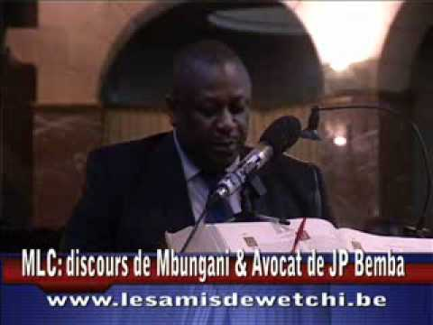Messe de soutien  Jean-Pierre Bemba Gombo