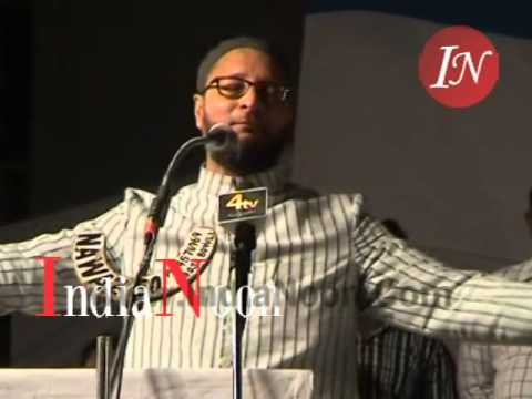 Asaduddin Owaisi latest speech after 2014 Elections Win on 18 May 2014 at Darussalaam Hyderabad