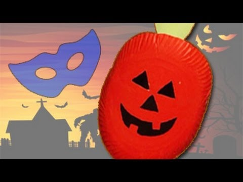 How to Make a Pumpkin Mask For Halloween How to Make a Halloween