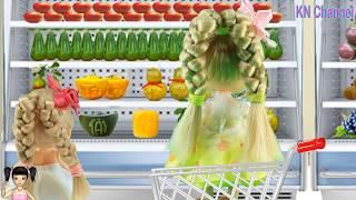 ChiChi ToysReview TV - Trò Chơi búp bê đi mua sắm đồ tết