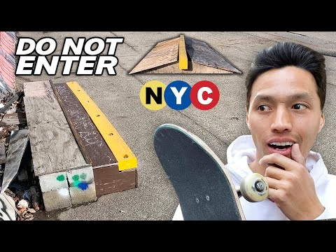 The Tiny NYC Skatepark No One Is Allowed To Visit