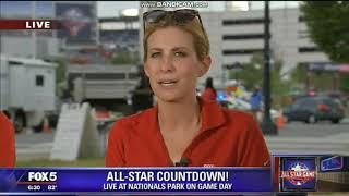 "WTTG Fox 5 News ""MLB All-Star Game"" pregame show open July 17, 2018"