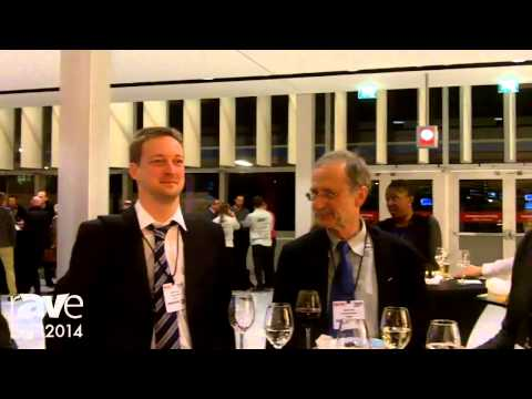 ISE 2014: Opening Reception Interview with ISE Attendees Peter And David