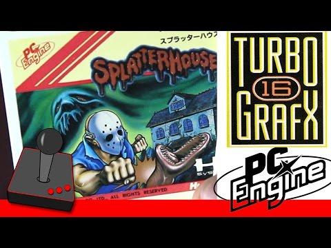 Splatterhouse - 1 - PC Engine / TurboGrafx-16 Review