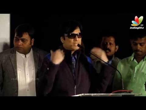 Dhanush walks off from the stage after being compared to Kamal | Karthik | Anegan Audio launch