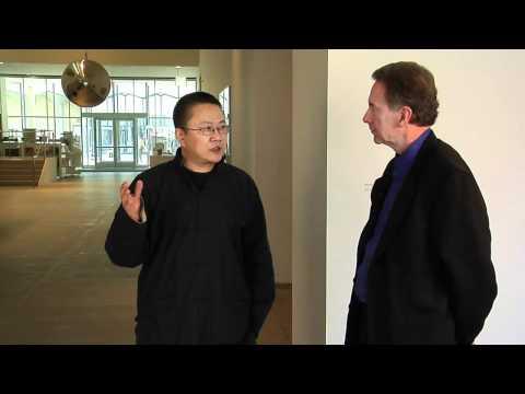 Architect Wang Shu, 2012 Pritzker Winner, in St. Louis