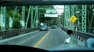 Model a Ford on Lambertville bridge