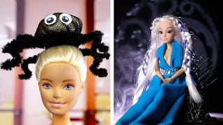 12 INCREDIBLE BARBIE MAKEOVER IDEAS