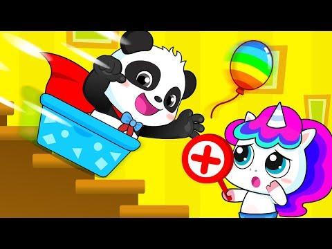 키키의 슈퍼 히어로 변신~!|어린이 안전송|생활동요|유아교육|역할놀이|키키묘묘|베이비버스 인기동요|BabyBus