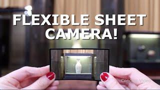 Flexible Sheet Camera