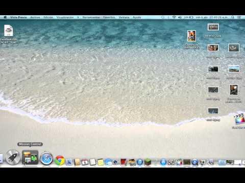 tutorial - como pasar fotos y videos del ipod/iphon/ipad a mac