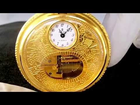 Reuge Music Box Pocket Watch