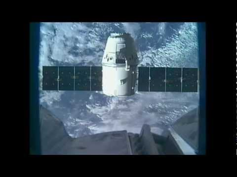 SpaceX Dragon Carrying NASA Cargo Arrives at International Space Station