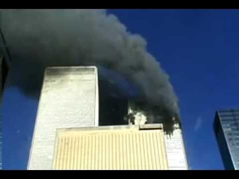 11 سبتمبر شوفو هجوم الطائرة بشكل قريب وصوت الانفجار