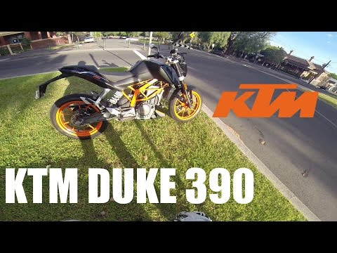 KTM Duke 390 Test Ride Review!