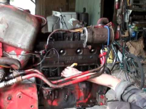 Part1 International 300 Utility Tractor Camshaft