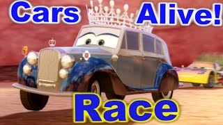 Cars 2: The video Game - The Queen - Race on Timberline Sprint