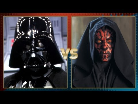 Darth Vader vs Darth Maul: Fanboy Faceoff