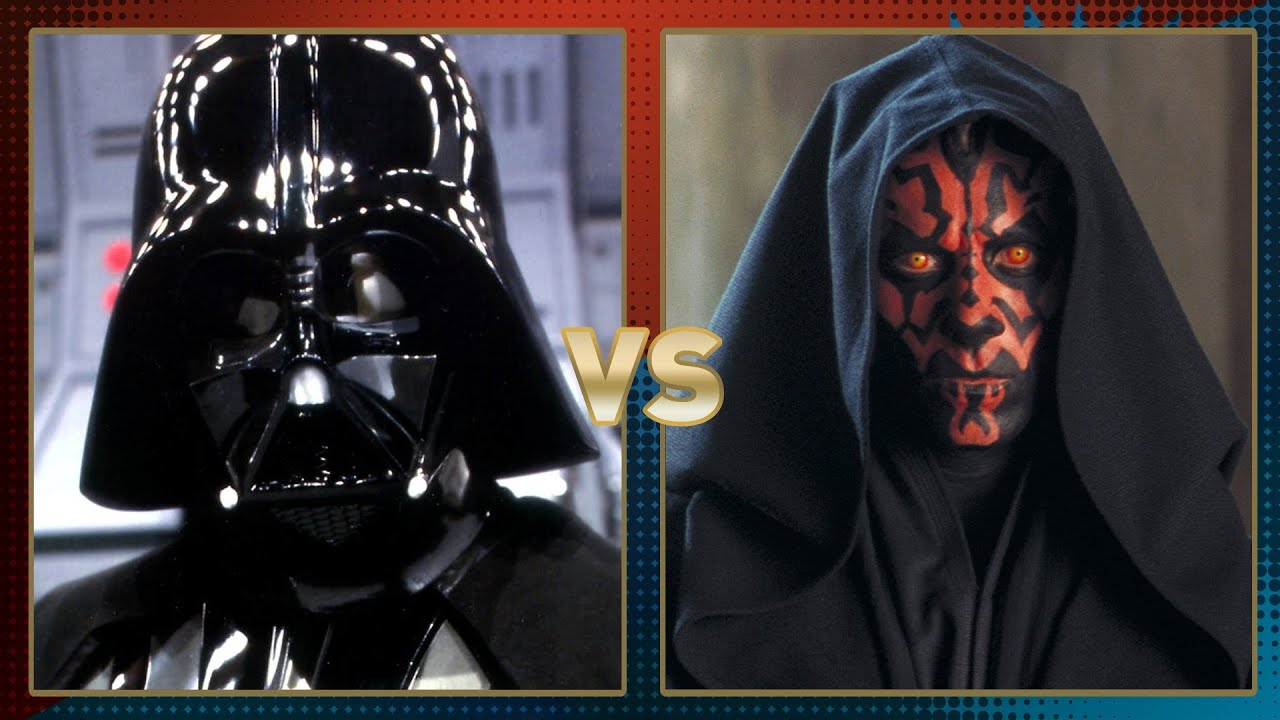Darth Vader vs Darth Maul Anakin Skywalker Vs Darth Maul