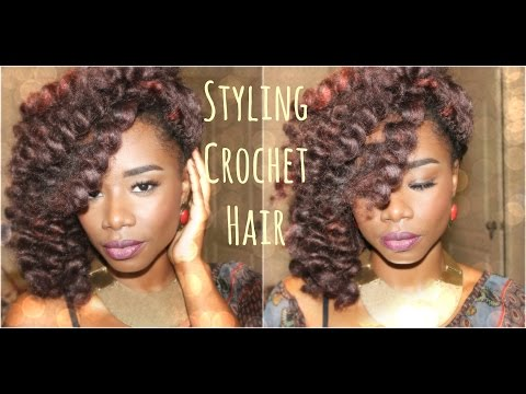 Styling Crochet Hair (Perm Rods) & *Final Thoughts*