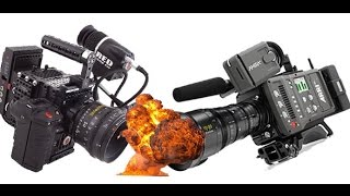 Arri Amira vs Red EPIC Dragon - 4K Shootout - Resolution Test