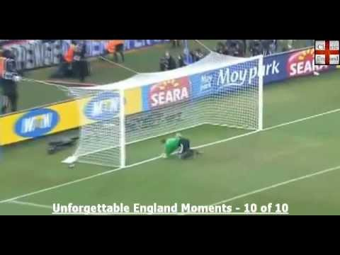 Frank Lampard's Disallowed Goal v Germany 2010 + Post Match.