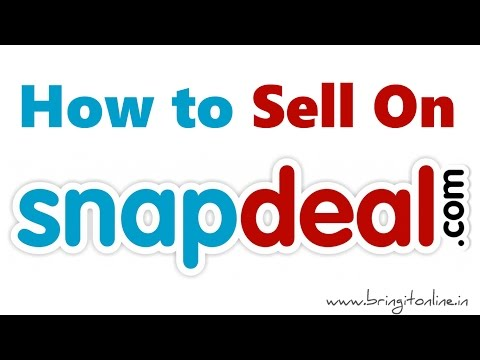 How to Sell on Snapdeal ?