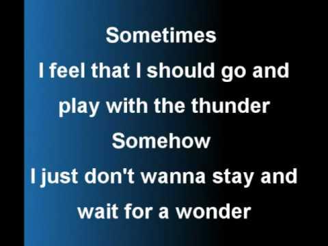 Rasmus - In The Shadows Lyrics