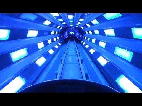 Space Mountain [HD POV] Walt Disney World Magic Kingdom Florida FULL Night Vision
