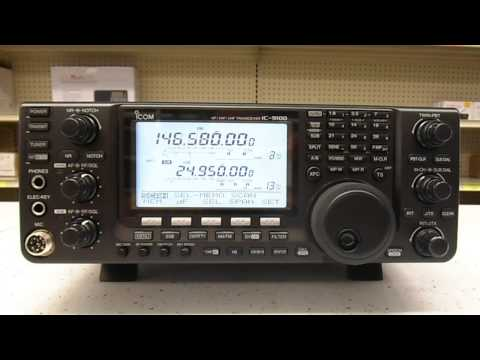 AES Demo Icom IC-9100 Also Has Scan AGC Issues (and NO HP-1 Scanner!)