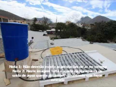 Painel Solar Com Garrafas Pet Youtube